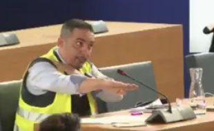 Djamel Boumaaz a fait une quenelle en plein conseil municipal de Montpellier.