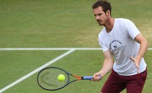 Andy Murray est proche d'un retour en simple sur les courts.