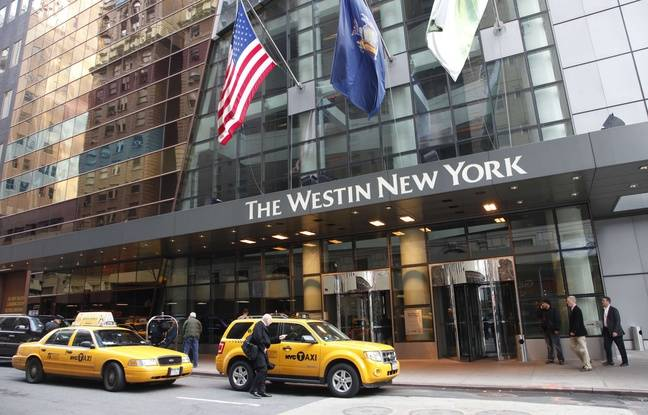 Un hôtel Westin (groupe Starwood/Marriott) à New York.