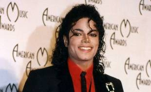 Le chanteur Michael Jackson aux American Music Awards en 1989