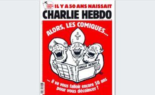 Couverture de « Charlie Hebdo » du 18 novembre 2020.