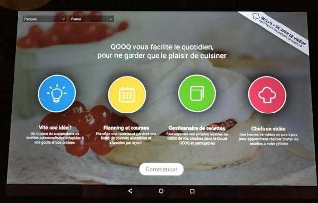 Simple d'accès, Qooq propose un menu allèchant.