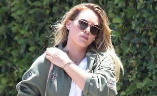 Hilary Duff out and about in Los Angeles. 07/07/2017//BROADIMAGE_1427007/Credit:MATE/Broadimage/SIPA/1707081449