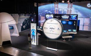 La nouvelle salle de contrôle de la Cité de l'Espace.