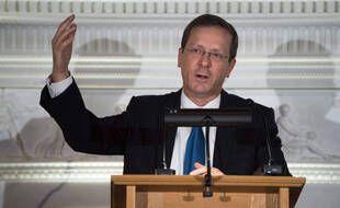 Isaac Herzog, ici à Londres en 2018, est le nouveau président de l'Etat d'Israël. (archives)