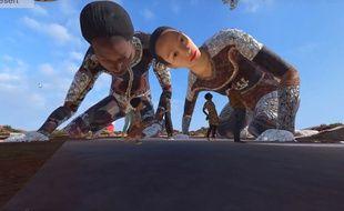 L'expérience virtuelle VR_I permet notamment d'évoluer au milieu de géants de 40 mètres de haut.