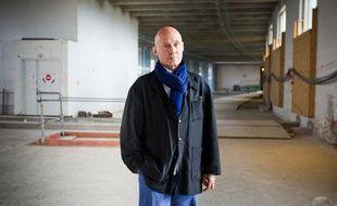 L'architecte bordelais Olivier Brochet, sur le site du Musée de l'Homme à Paris