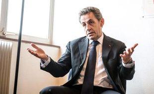 Nicolas Sarkozy à Tourcoing, le 29 janvier 2015