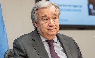 Antonio Guterres est le secrétaire général de l'ONU.