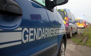 Illustration d'un véhicule de gendarmerie.