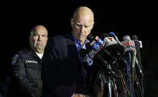 Le gouverneur de Californie Jerry Brown à San Bernardino, le 3 décembre 2015.
