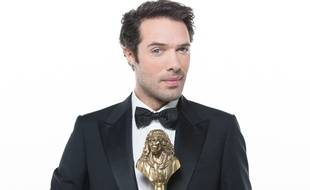 Nicolas Bedos, maître de cérémonie des Molières 2014.