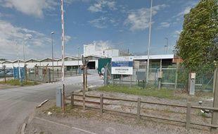 L'usine Tioxide à Calais.
