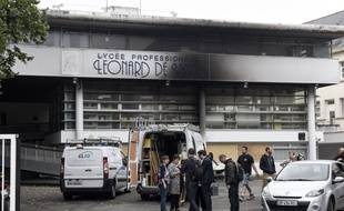 Le lycée Léonard-de-Vinci quartier Bottière à Nantes
