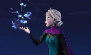 Elsa dans «La Reine des neiges», film d'animation Disney.