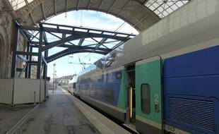 La passerelle de la gare de Nice permettra de relier les quatre quais.