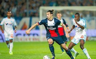 Zlatan Ibrahimovic avait mis à mal la défense marseillaise lors du match aller au Vélodrome (1-2).