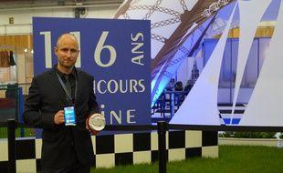 Alexandre Defromont présente son invention