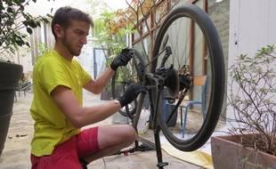 Hugo, 22 ans, cyclofixeur