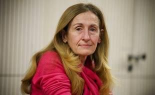 Toulouse, le 12 février 2013. Nicole Belloubet qui était élu à la Région Midi Pyrénées, vient d'être nommé au Conseil Constitutionnel.