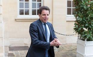 Le patron du Medef Geoffroy Roux de Bézieux à Matignon, le 10 janvier 2020.