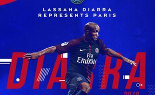 Lassana Diarra renforce le PSG