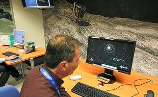 Les équipes toulousaines du Cnes ont reçu les premières images réalisés par les caméras de Philae.