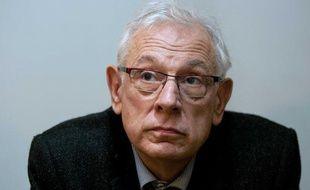 Le pédagogue Philippe Meirieu lors du            Conseil federal  d'Europe Ecologie-Les Verts à Lyon  le 13 novembre 2011.