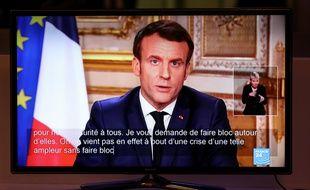 L'allocution d'Emmanuel Macron sur le coronavirus, le 12 mars 2020.