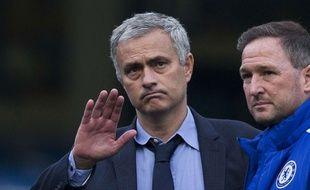 José Mourinho après Chelsea-Liverpool le 31 octobre 2015.