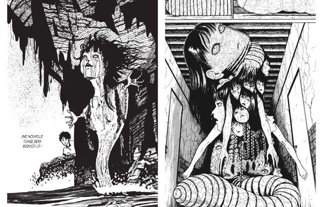 Tomie va hanter vos cauchemars, vous pouvez dire merci à l'imagination et au trait du manga Junji Ito