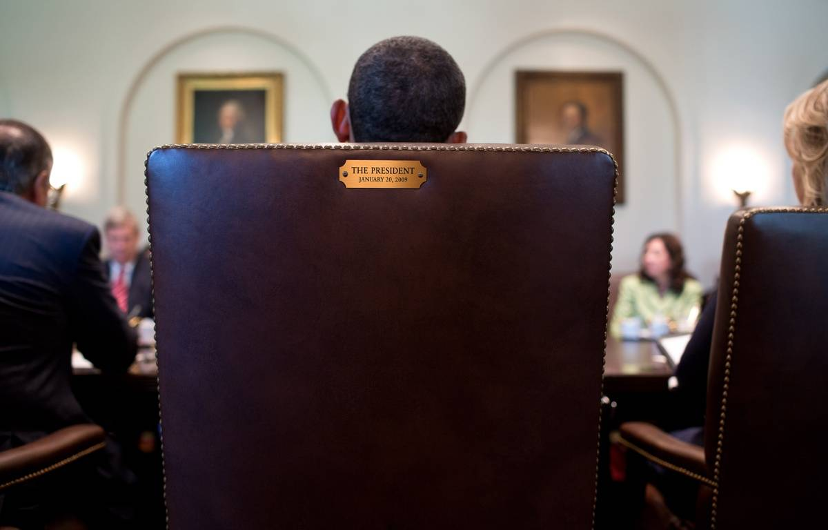 Le fauteuil de Barack Obama à la Maison Blanche. – P.SOUZA/WHITE HOUSE