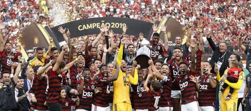 Flamengo a fait plier River Plate à Lima (Pérou).