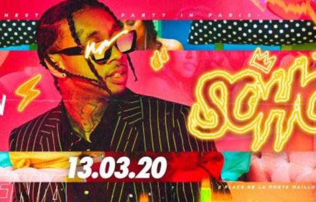 Visuel acidulé pour la soirée Hip Hop du Palais Maillot