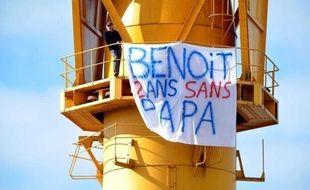 Serge Charnay a perdu le droit de visite de son fils Benoît il y a deux ans à la suite de sa condamnation pour soustraction d'enfant.