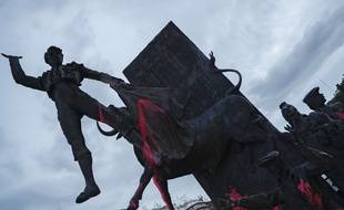 Près de 2.000 personnes ont manifesté samedi 13 mai à Madrid pour réclamer l'abolition de la tauromachie