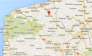La ville de Wormhout, dans le Nord.