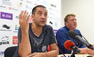 Mourad Boudjellal à Toulon le 8 septembre 2015