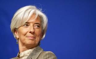 Christine Lagarde, ministre de l'Economie, lors d'un colloque Europe Chine a Bercy le 16 juin 2010.
