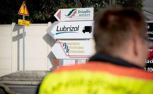 L'usine Lubrizol de Rouen a été touchée par un important incendie, le 26 septembre 2019.