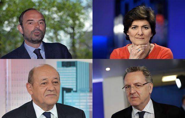 Edouard Philippe, Sylvie Goulard, Jean-Yves Le Drian et Richard Ferrand font partie des favoris pour Matignon.