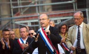 Le député maire d'Orange Jacques Bompard.
