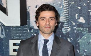 L'acteur Oscar Isaac à l'avant-première de X-Men: Apocalypse, à Londres