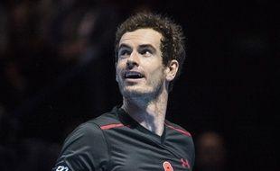 Le joueur de tennis Andy Murray au SSE Hydro de Glasgow