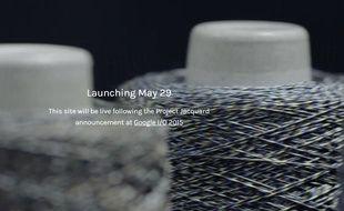 Google doit dévoiler son Projet Jacquard, autour du textile connecté, le 29 mai 2015.