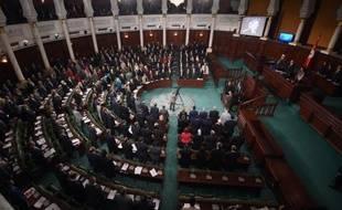 Une session au parlement de Tunis, le 4 février 2015