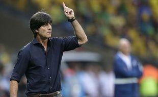 Joachim Löw face au Brésil, le 8 juillet 2014