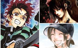 Après une décennie compliquée, Panini Manga revient avec une politique forte de rééditions, ici « Demon Slayer »,  « Sidooh » et  « Aozora Yell »