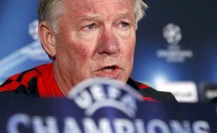 Sir Alex Ferguson, le 22 février 2011, à Marseille.