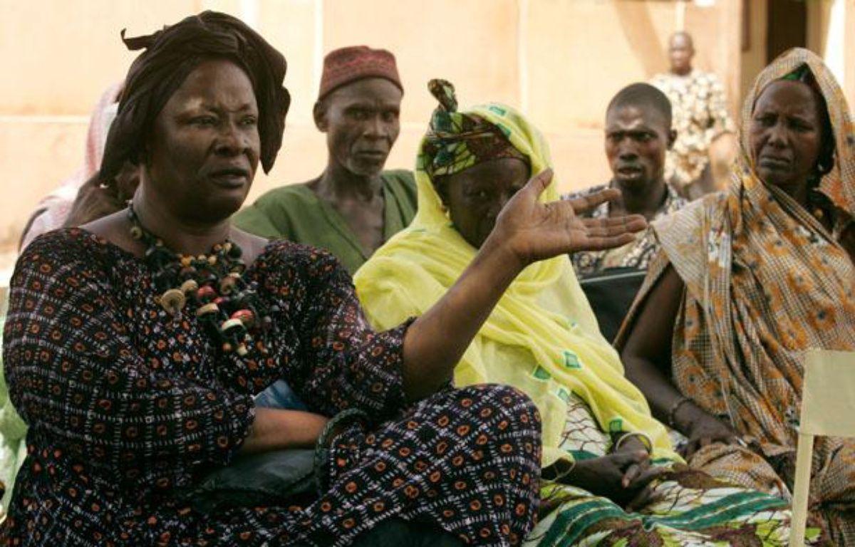 Aminata Traoré à Didieni au Mali le 2 octobre 2006.  –  HALEY/SIPA